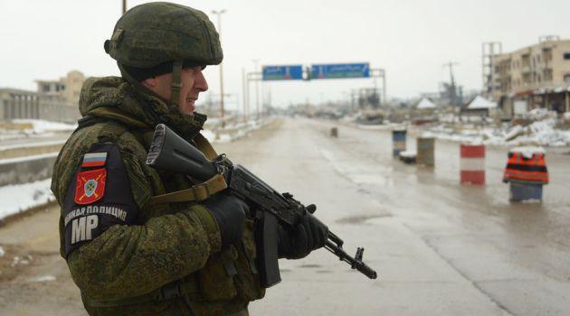 Российская военная полиция в Идлибе, Сирия