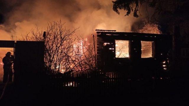 Пожар в Пензенской области