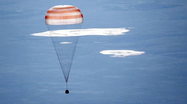 Посадка спускаемого аппарата