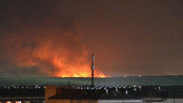 Пожар в колонии Ангарска