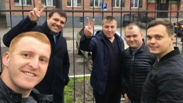 Избивших обвиняемого в педофилии полицейских отпустили
