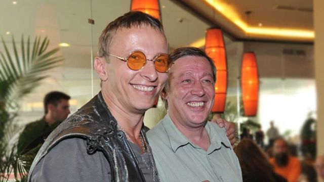 Иван Охлобыстин и Михаил Ефремов