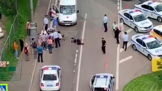 Расстрел полицейских в Москве