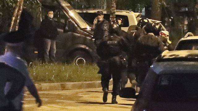Стрельба по прохожим в Москве