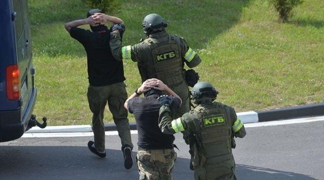В Минске задержали 33 россиянина