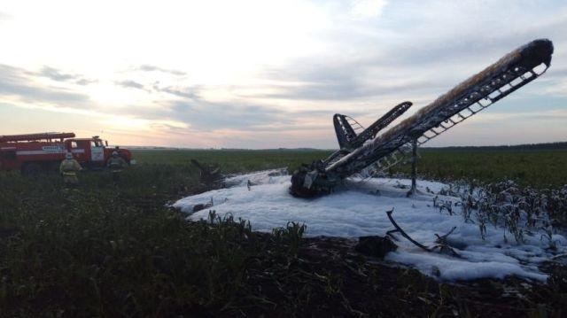 Ан-2 упал в Нижегородской области
