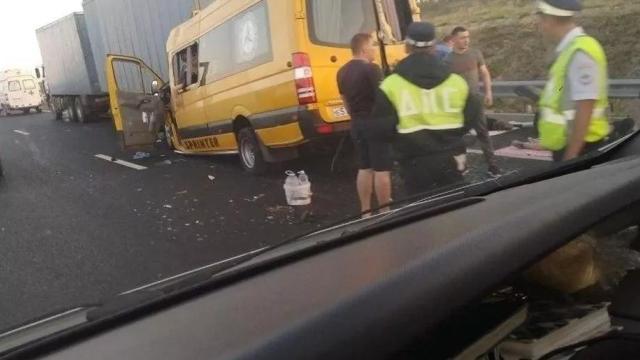 8 человек погибли на трассе «Таврида»