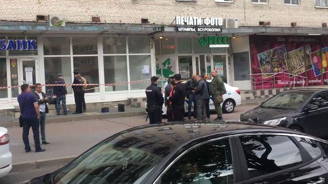 Вооруженное ограбление банка в Петербурге