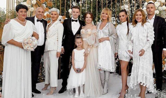 Свадьба сына Валерии Арсения