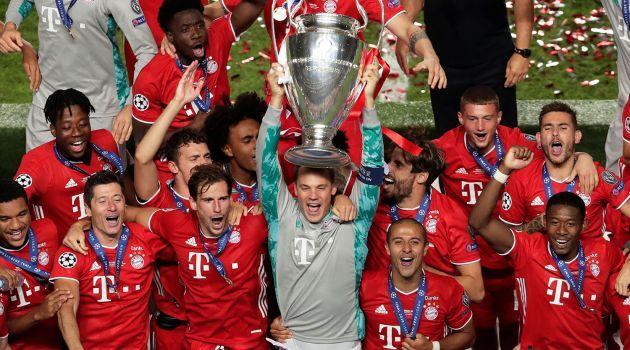 «Бавария» в шестой раз завоевала кубок Лиги чемпионов