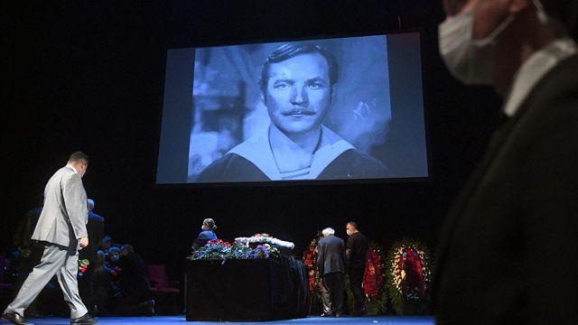церемония прощания с Николаем Губенко