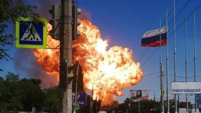 Взрыв на АЗС в Волгограде
