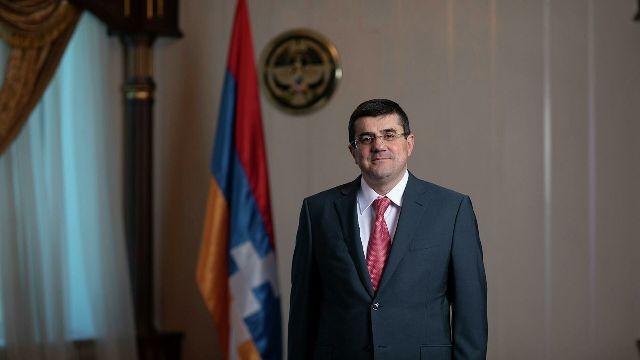 Президент Нагорно-Карабахской республики Араик Арутюнян