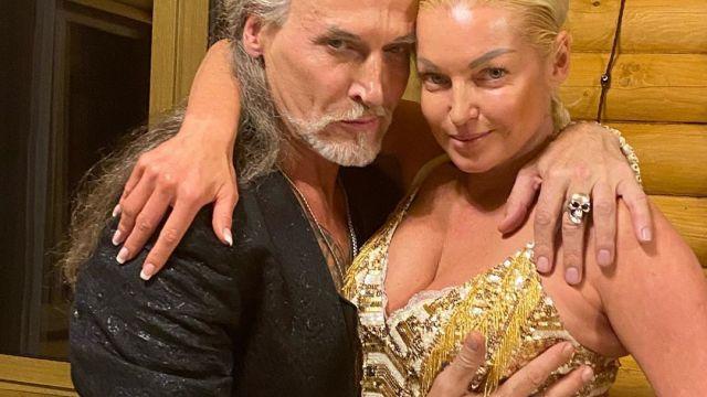 Никита Джигурда и Анастасия Волочкова. Фото: @volochkova_art