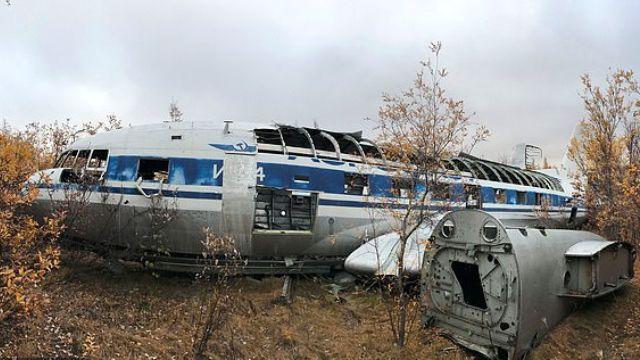 Самолет Хрущева Ил-14П