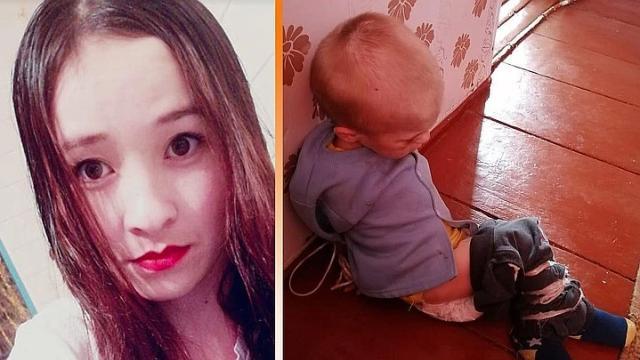 Многодетная мать взяла в плен полуторагодовалого сына подруги