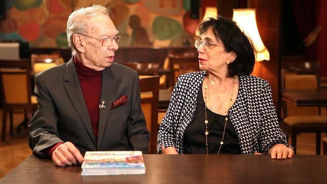Алексей Баталов с супругой Гитаной