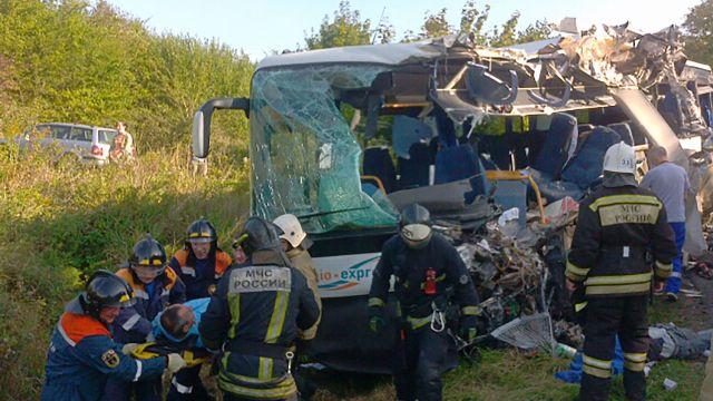 Семь человек погибли в страшном ДТП под Калининградом
