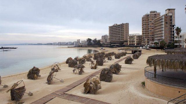 Заброшенный курорт Вароша, Кипр