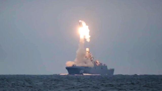 «Адмирал Горшков» выполнил стрельбу ракетой «Циркон»