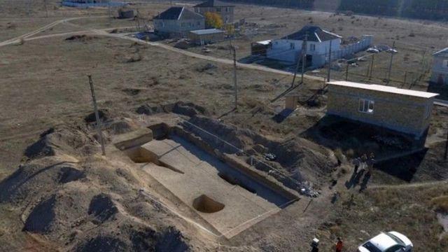 Некрополь античного времени Сувлу-Кая в Крыму