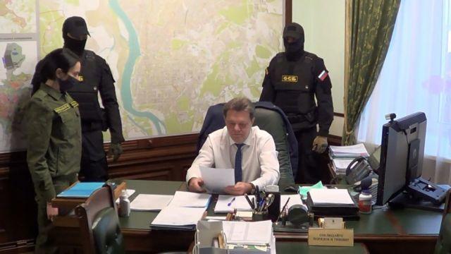 Задержание мэра Томска