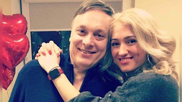 Андрей Разин с невестой Ольгой
