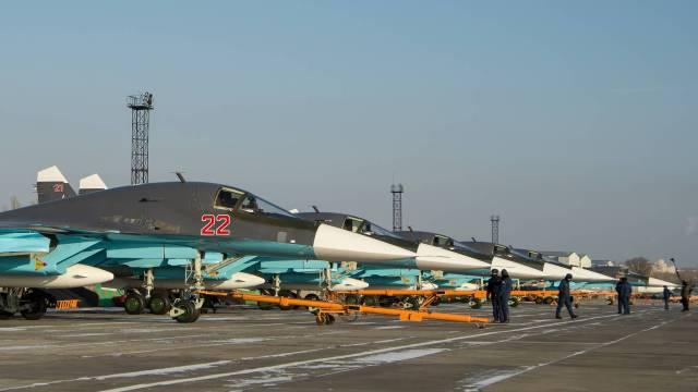 Военный аэродром Балтимор под Воронежем