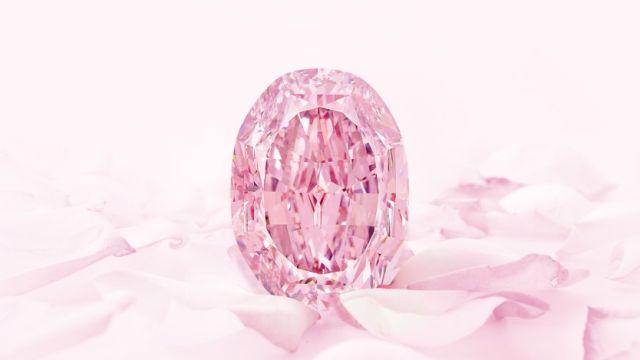 Розовый бриллиант «Призрак розы»