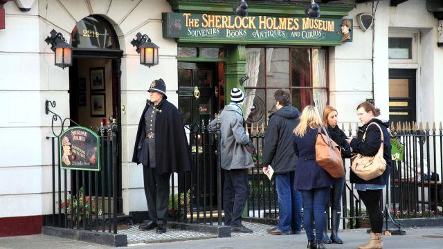 Дом-квартира Шерлока Холмса