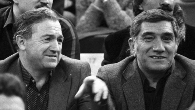 Никита Симонян и Армен Джигарханян