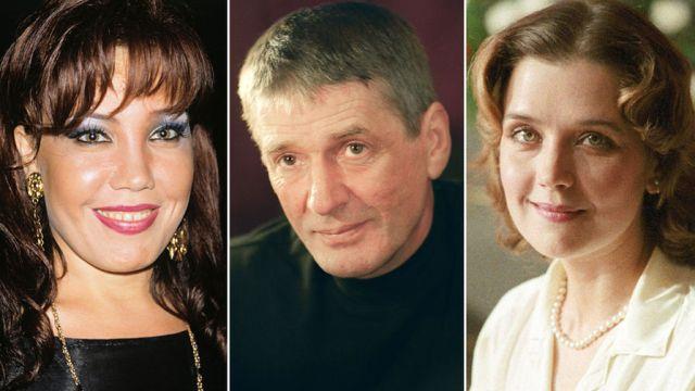 Азиза, Александр Абдулов и Ирина Алферова