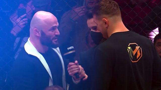 Исмаилов и Минеев устроили массовую драку на турнире АМС
