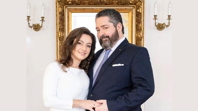 Ребекка Беттарини и Великий князь Георгий Михайлович