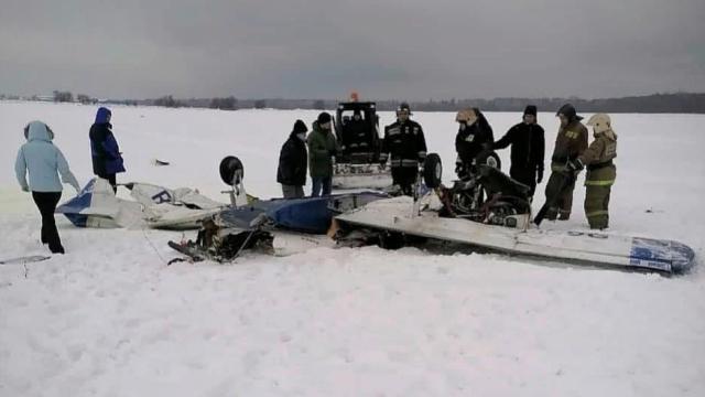 Легкомоторный самолет Piper разбился под Петербургом