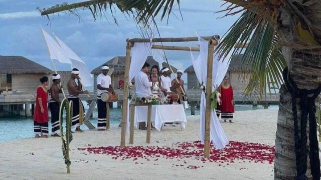 Ольга Бузова тайно вышла замуж на Мальдивах