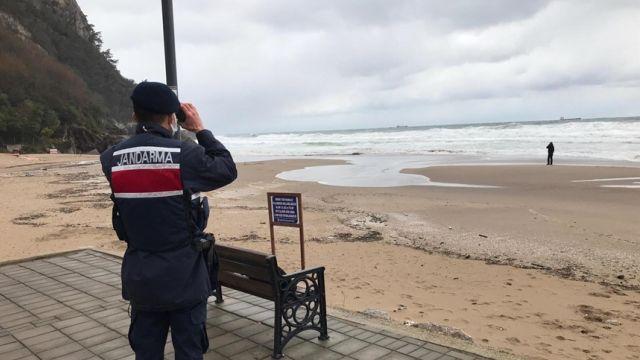 Российский сухогруз «Арвин» затонул у берегов Турции