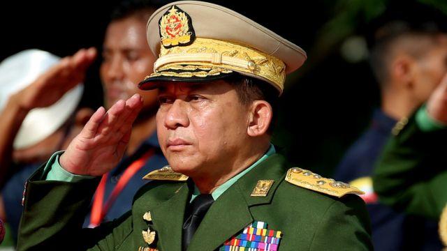 Главнокомандующий ВС Мьянмы Мин Аун Хлаин