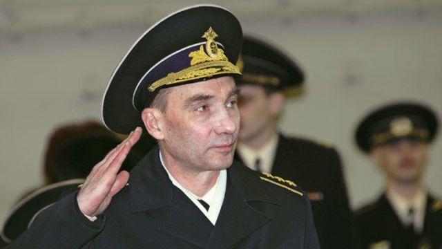 Бывший главнокомандующий ВМФ России Владимир Высоцкий