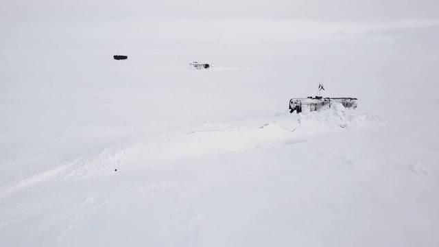 Три атомные подлодки одновременно проломили лед в Арктике