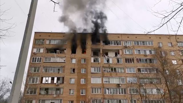 Взрыв в многоэтажном доме в Химках