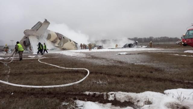 Ан-26 потерпел крушение в Казахстане