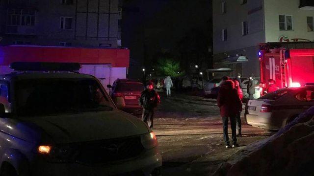 Взрыв в жилом доме в Зеленодольске