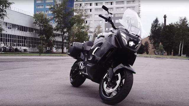 НАМИ представил мотоцикл Aurus