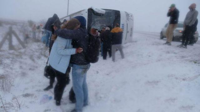 Автобус с туристами из России разбился в Турции