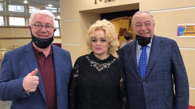 Владимир Винокур, Надежда Кадышева, Евгений Петросян