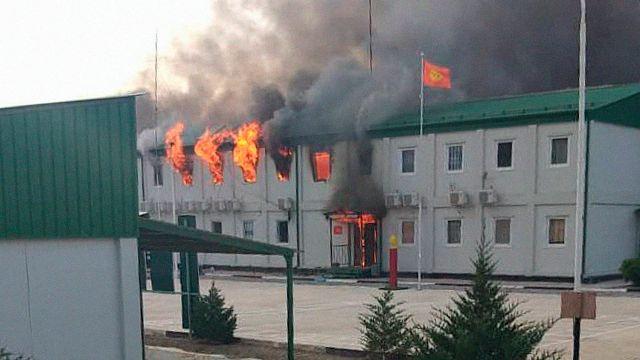 Конфликт на границе Киргизии с Таджикистаном