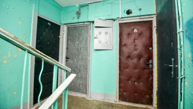 Входные двери вСССР обивали дерматином