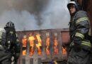 В Петербурге сгорела «Невская мануфактура»
