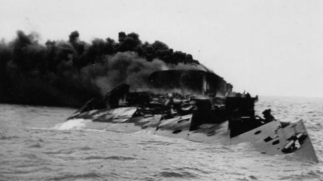 Затонувший лайнер «Кап Аркона»